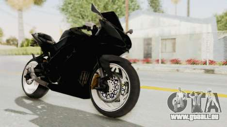 Kawasaki Ninja 250RR Mono Sport für GTA San Andreas rechten Ansicht