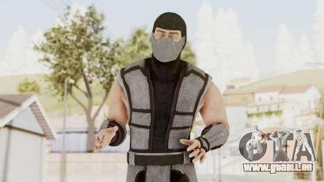 Mortal Kombat X Klassic Human Smoke pour GTA San Andreas