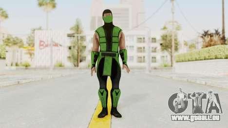 Mortal Kombat X Klassic Human Reptile pour GTA San Andreas deuxième écran