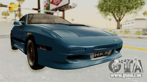 Mazda RX-7 FC3S für GTA San Andreas rechten Ansicht