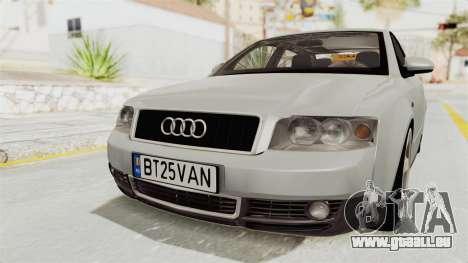 Audi A4 2002 Stock pour GTA San Andreas