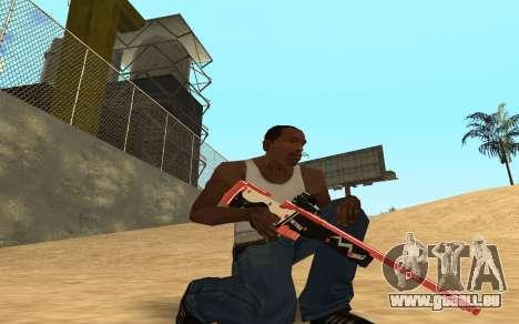 Rifle Cyrex für GTA San Andreas