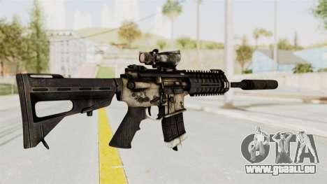 P416 Silenced pour GTA San Andreas troisième écran