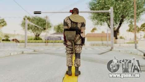 MGSV The Phantom Pain Venom Snake Scarf v8 pour GTA San Andreas troisième écran