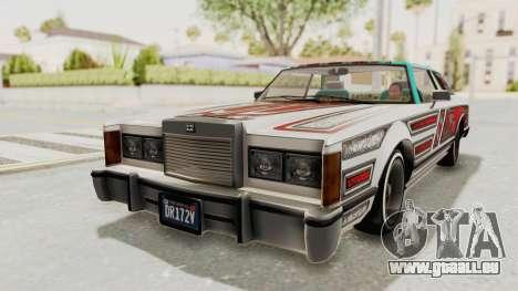 GTA 5 Dundreary Virgo Classic Custom v2 pour GTA San Andreas vue de côté
