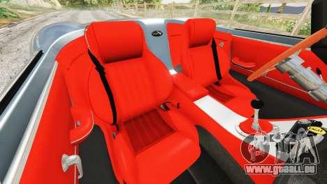 Eagle Speedster 2012 für GTA 5
