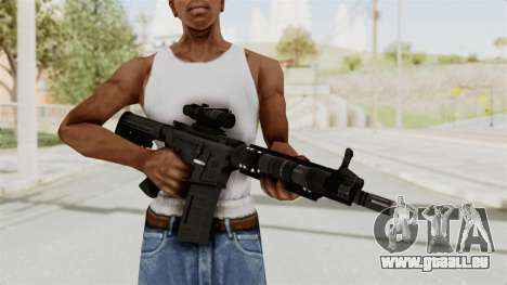 M4A1 SWAT pour GTA San Andreas troisième écran