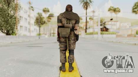 MGSV The Phantom Pain Venom Snake Scarf v9 für GTA San Andreas dritten Screenshot