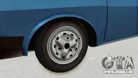 Dacia 1310 MLS 1988 Stock für GTA San Andreas Rückansicht