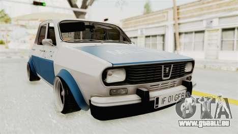 Dacia 1300 Stance Police für GTA San Andreas