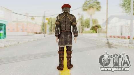AC Brotherhood - Leonardo Da Vinci Fixed pour GTA San Andreas troisième écran