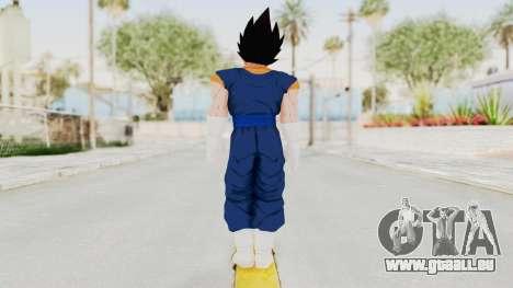 Dragon Ball Xenoverse Vegito SJ pour GTA San Andreas troisième écran