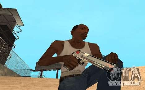 Desert Eagle Cyrex für GTA San Andreas
