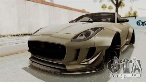 Jaguar F-Type L3D Store Edition pour GTA San Andreas