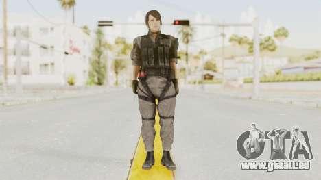 MGSV Phantom Pain Quiet XOF v1 für GTA San Andreas zweiten Screenshot