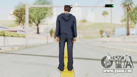 Captain America Civil War - Peter Parker für GTA San Andreas dritten Screenshot
