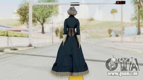 Bioshock Infinite Elizabeth Old für GTA San Andreas dritten Screenshot
