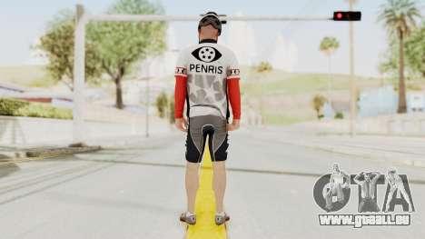 GTA 5 Cyclist 1 für GTA San Andreas dritten Screenshot