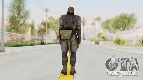 MGSV Phantom Pain Venom Snake Sneaking Suit für GTA San Andreas dritten Screenshot