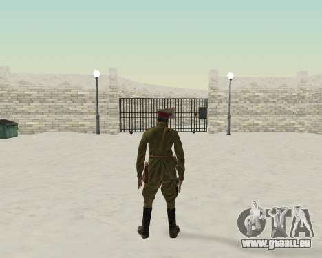 Pak Kämpfer der roten Armee für GTA San Andreas her Screenshot