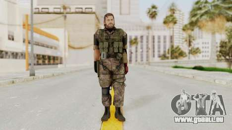 MGSV The Phantom Pain Venom Snake No Eyepatch v6 für GTA San Andreas zweiten Screenshot
