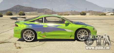 1995 Mitsubishi Eclipse GSX pour GTA 5