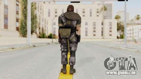 MGSV The Phantom Pain Venom Snake Scarf v7 für GTA San Andreas dritten Screenshot