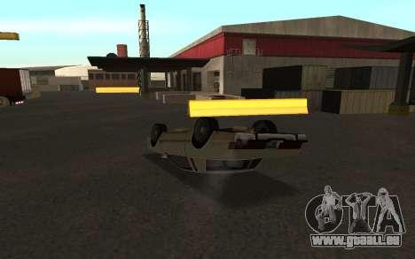 Flip machine pour GTA San Andreas troisième écran
