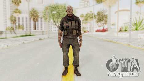 COD Black Ops 2 Hudson Commando für GTA San Andreas zweiten Screenshot