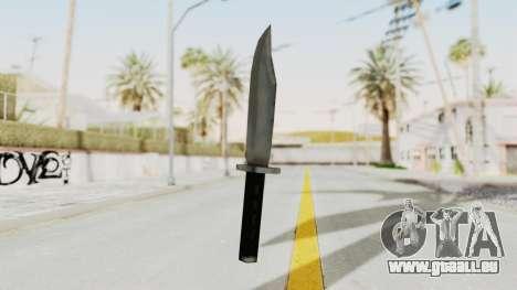 Liberty City Stories - Knife pour GTA San Andreas deuxième écran