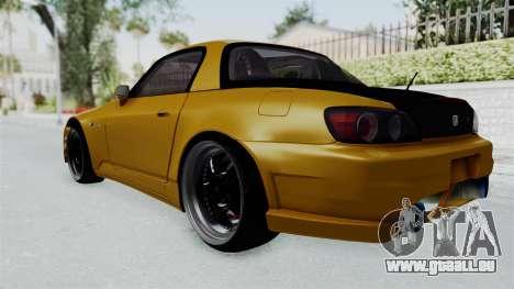 Honda S2000 S2K-AP1 pour GTA San Andreas laissé vue
