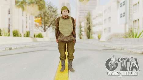 MGSV The Phantom Pain Soviet Union VH Sleeve v1 für GTA San Andreas zweiten Screenshot