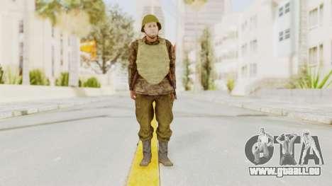 MGSV The Phantom Pain Soviet Union VH Sleeve v1 für GTA San Andreas zweiten Screenshot