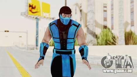 Mortal Kombat X Klassic Sub Zero UMK3 v1 für GTA San Andreas