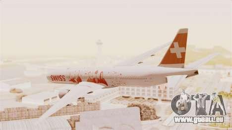 Boeing 777-300ER Faces of SWISS Livery für GTA San Andreas linke Ansicht