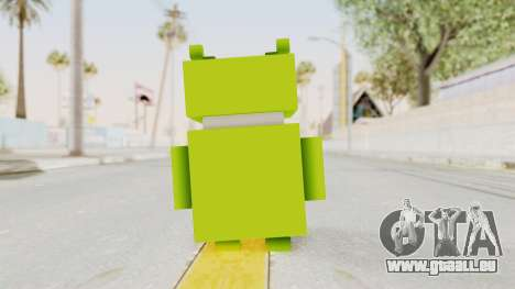 Crossy Road - Android Robot für GTA San Andreas dritten Screenshot