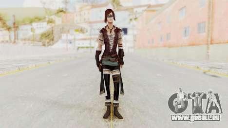AC Brotherhood - Courtesan Elite Costume pour GTA San Andreas deuxième écran