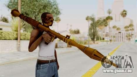 Rocket Launcher Gold für GTA San Andreas