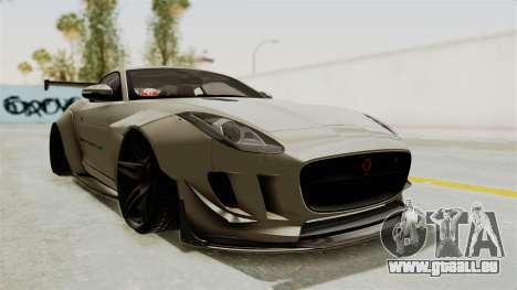 Jaguar F-Type L3D Store Edition pour GTA San Andreas vue de droite