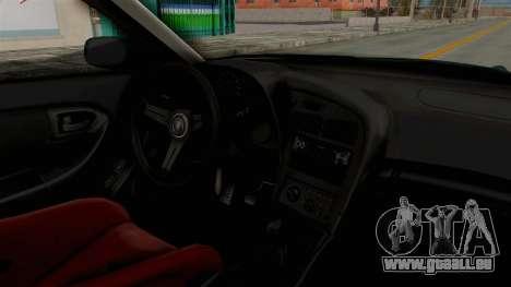 Toyota Celica GT Drift Falken für GTA San Andreas Innenansicht