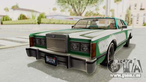 GTA 5 Dundreary Virgo Classic Custom v2 für GTA San Andreas