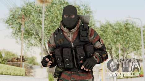 Battery Online Russian Soldier 5 v2 pour GTA San Andreas
