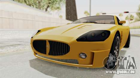 GTA 5 Ocelot F620 SA Lights pour GTA San Andreas