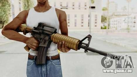 HD M4 v2 für GTA San Andreas dritten Screenshot