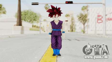 Dragon Ball Xenoverse Gohan Teen DBS SSG v1 für GTA San Andreas zweiten Screenshot