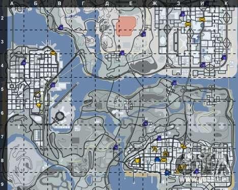 L'intérieur de la STO San Fierro pour GTA San Andreas troisième écran