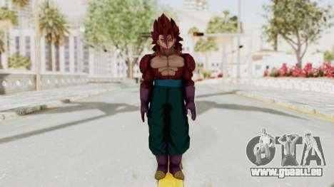 Dragon Ball Xenoverse Vegito SSJ4 pour GTA San Andreas deuxième écran