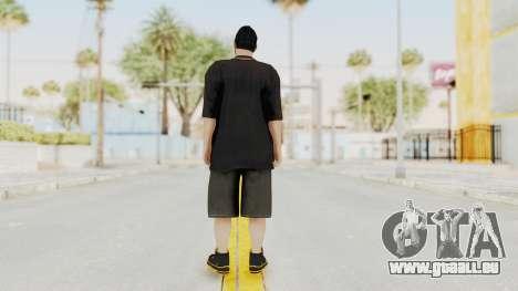 GTA 5 Online Male Skin 2 pour GTA San Andreas troisième écran