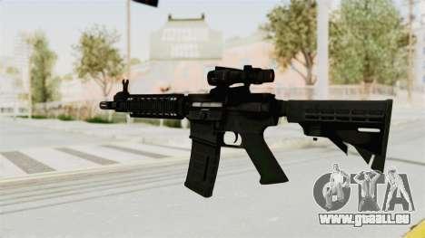 M4A1 SWAT pour GTA San Andreas deuxième écran