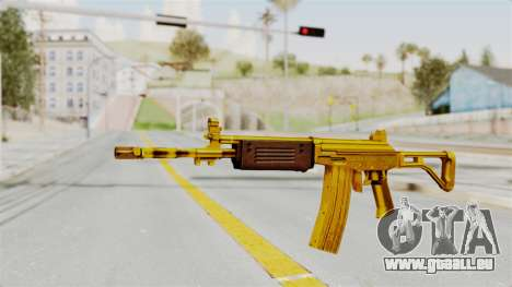 Galil Gold pour GTA San Andreas